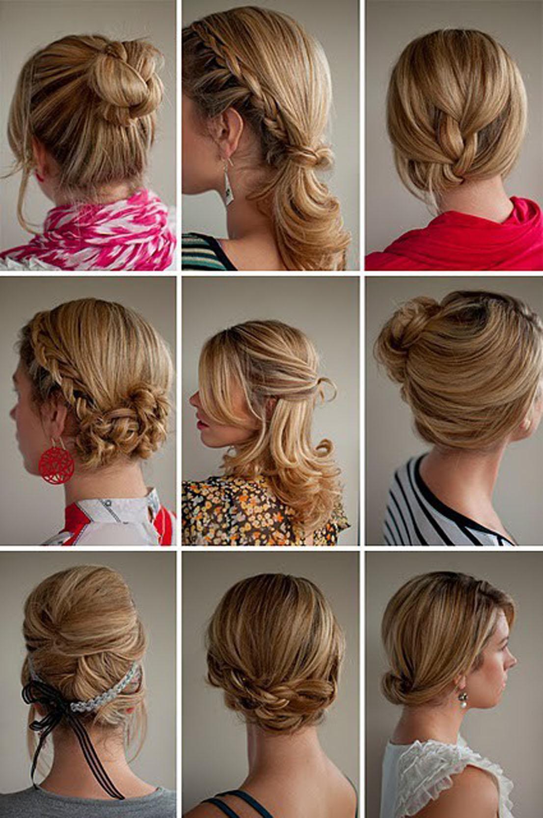 Swell Easy Ways To Braid Hair Borbotta Com Short Hairstyles For Black Women Fulllsitofus