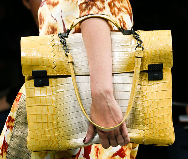 Borse Bottega Veneta 2013 : The best runway bags of spring chic wave